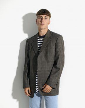 Vintage oversized 80s blazer