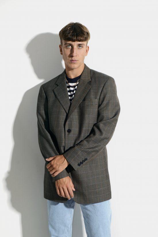 Vintage oversized 80s blazer mens