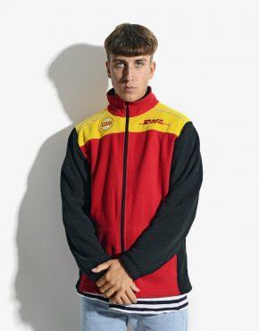 DHL warm fleece jacket