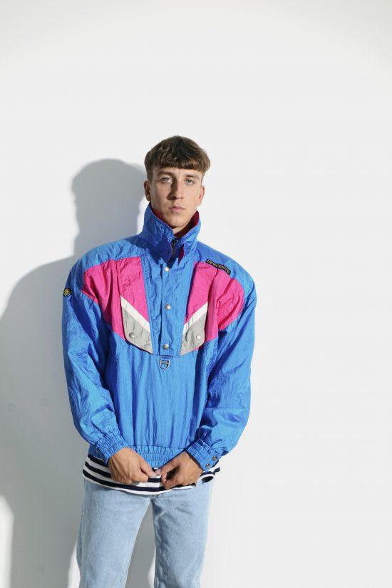 Retro ski jacket anorak windbreaker unisex