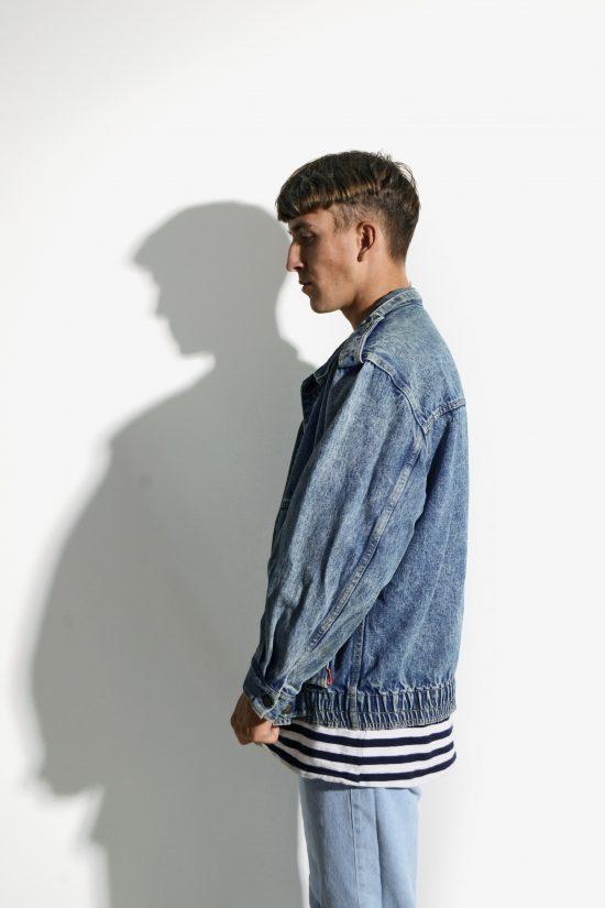 Mens 80s vintage denim jacket