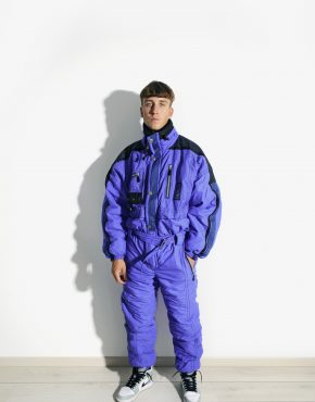 vintage winter ski suit