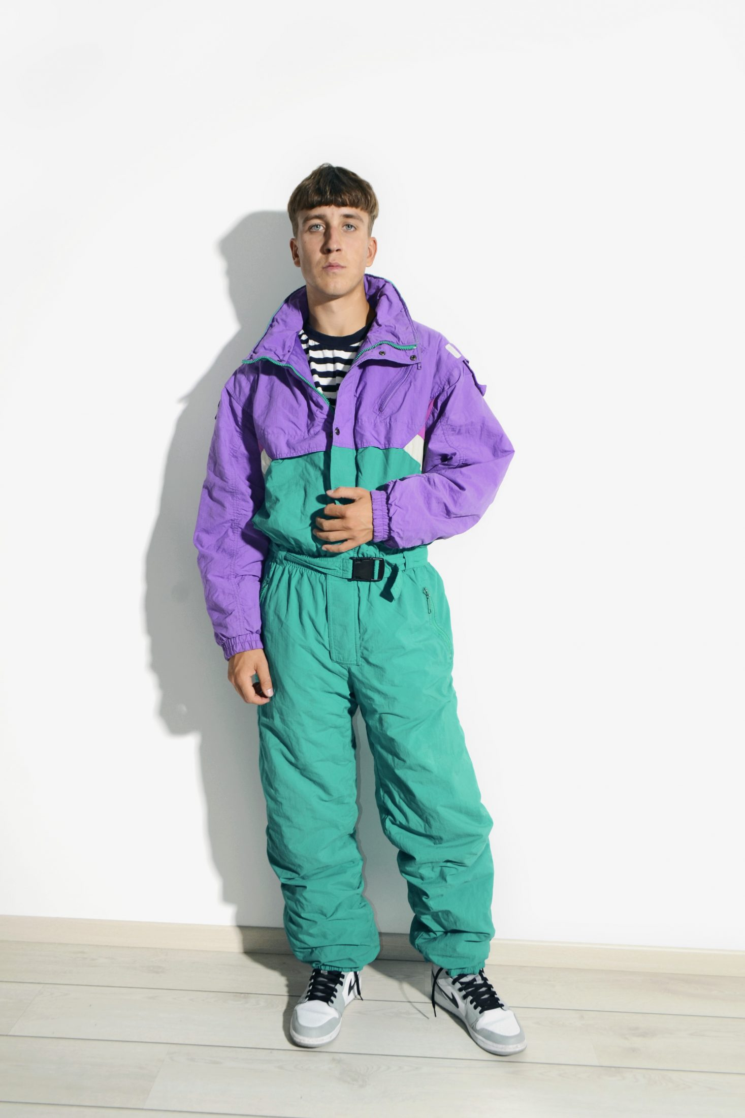 90s Vintage Ski Suit