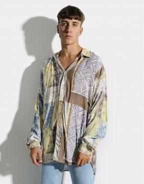 Multi long sleeve shirt
