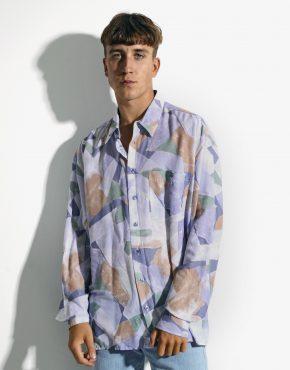 90s abstract long shirt
