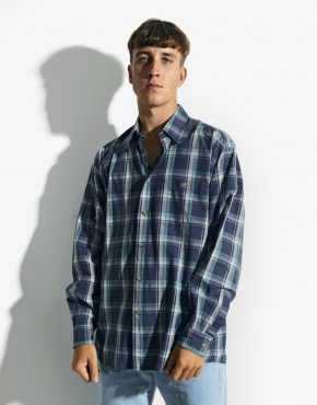 LACOSTE vintage plaid shirt