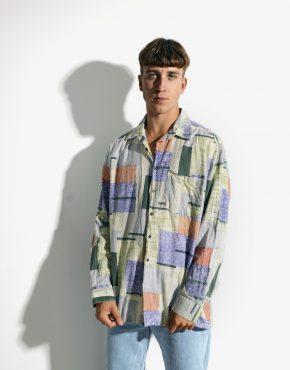 abstract long sleeve shirt