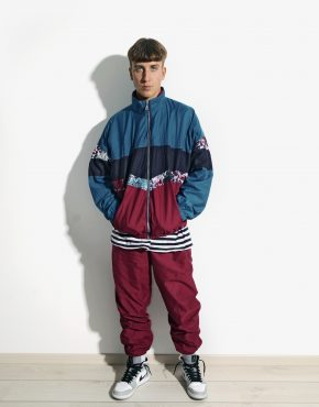 90s multi color tracksuit