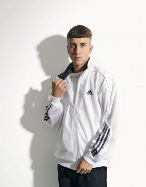 90s Adidas jacket white