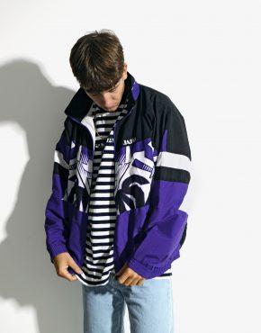 80s men shell jacket