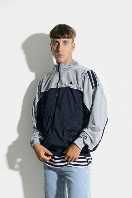 Vintage ADIDAS jacket grey