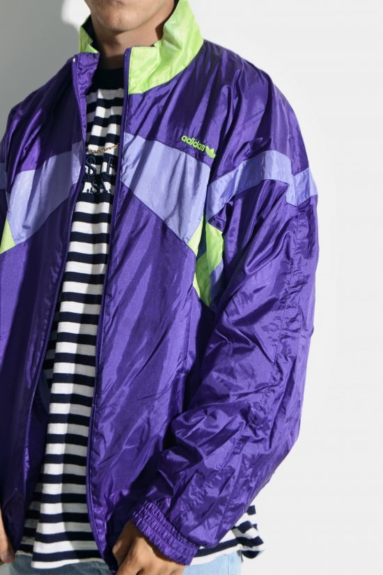 Vintage 90s ADIDAS Originals jacket purple