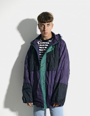 Retro lightweight windbreaker men