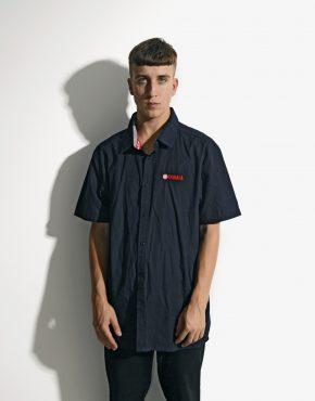 YAMAHA black shirt mens