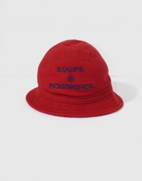 ROSSIGNOL red bucket hat