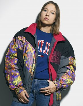 Vintage 90s abstract jacket