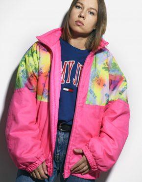 Retro 90s abstract jacket