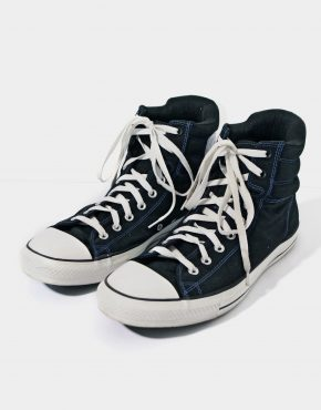 CONVERSE warm black trainers