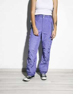 90s ski pants purple