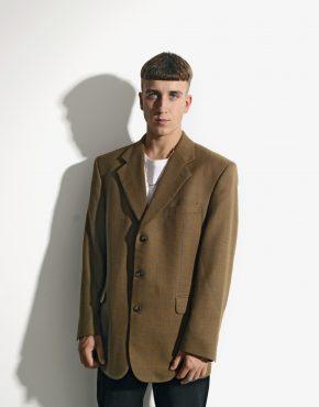 Vintage 80s blazer brown