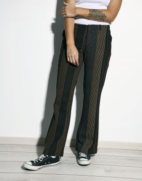 Brown vintage trousers women