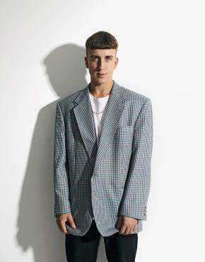90s vintage wool blazer