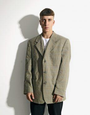 90s retro blazer jacket