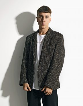 Vintage blazer brown jacket