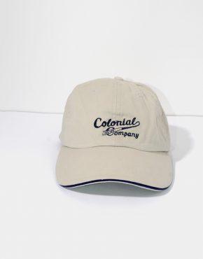 Colonial vintage baseball cap