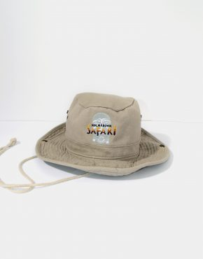 Safari vintage bucket hat