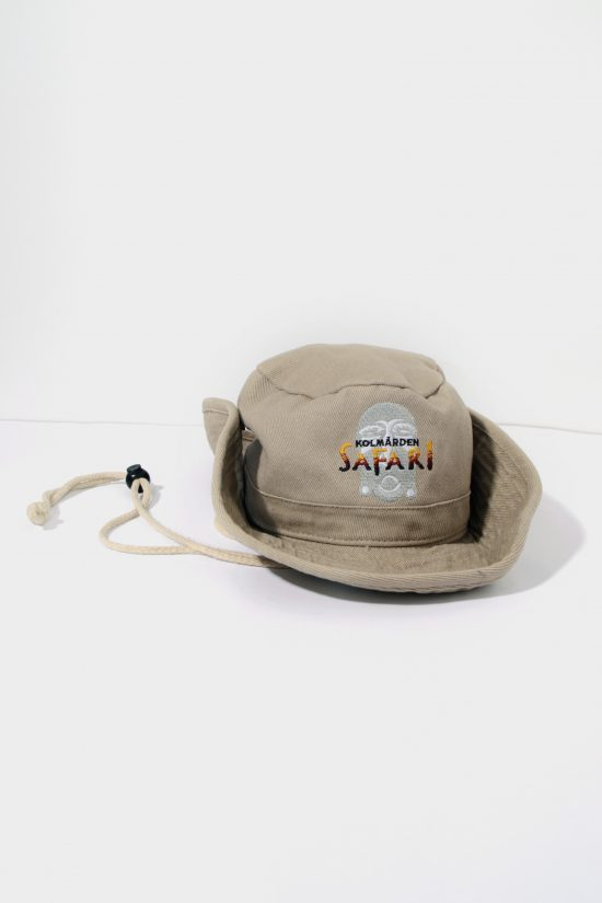 Safari vintage bucket hat youth women beige