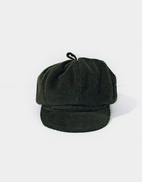 Vintage Velvet Newsboy Cap
