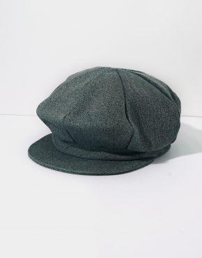 Vintage Denim Newsboy Cap