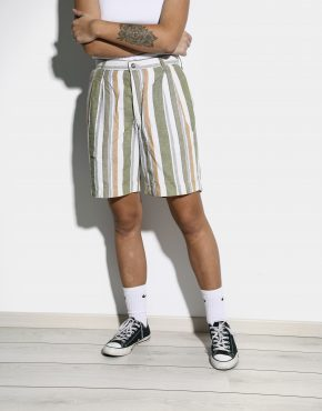 Vintage 90s striped shorts