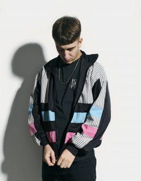 Vintage 80s track jacket