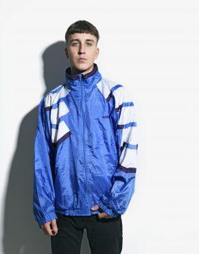 80s vintage blue jacket