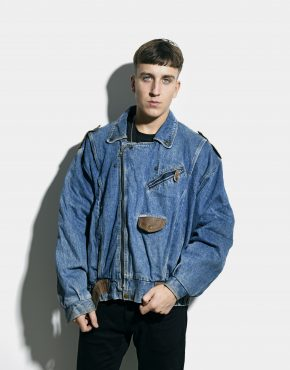 80s mens denim jacket
