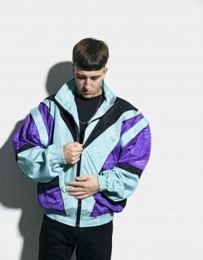 80s vintage multi jacket