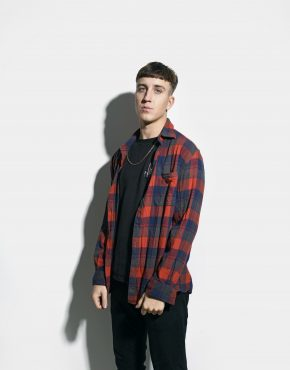 90s plaid long shirt