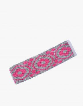 90s ski headband pink