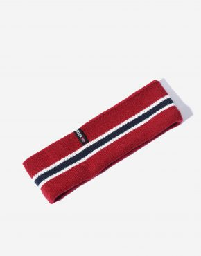 80s headband Norway flag