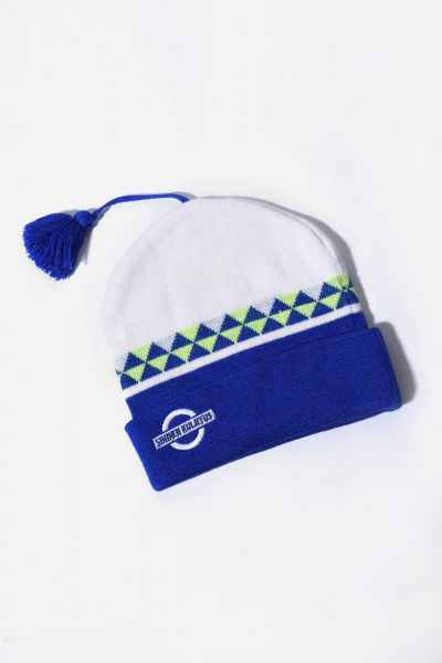 Vintage winter hat blue