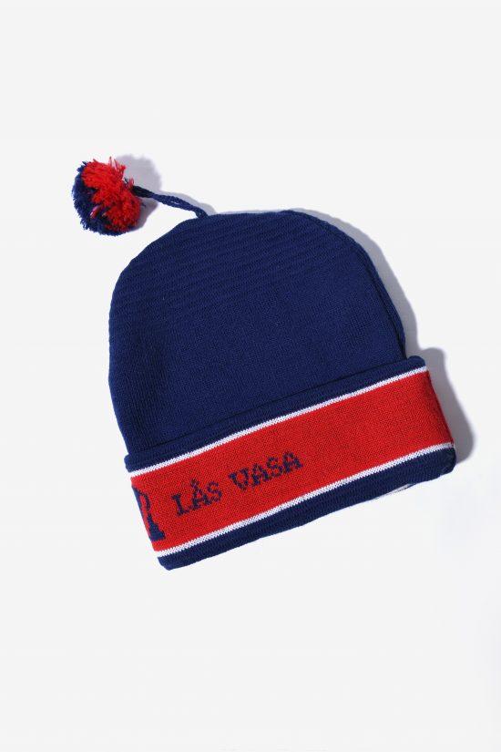 Retro 80s winter ski hat unisex multi colour