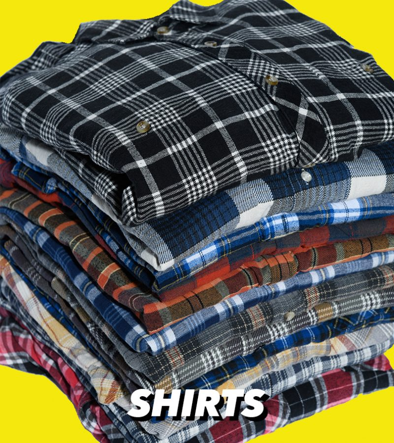VINTAGE RETRO PLAID FLANNEL SHIRTS FOR MEN