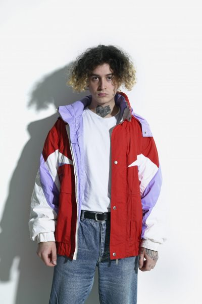 retro multi ski jacket