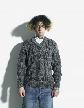 80s retro sweater mens