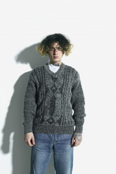 80s retro sweater mens