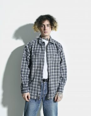 flannel plaid 90s shirt