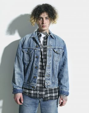 Lee denim jacket blue