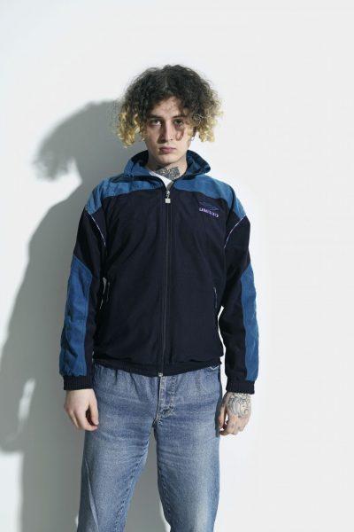 Old School UMBRO velvet jacket